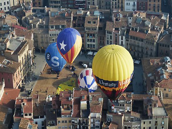 Panoramic balloon rides