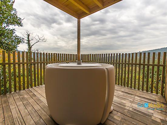 The terrace - Glamping Galicia