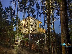 Outside - Glamping Cabin - Galicia