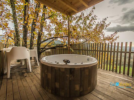 Jacuzzi - Glamping Galicia