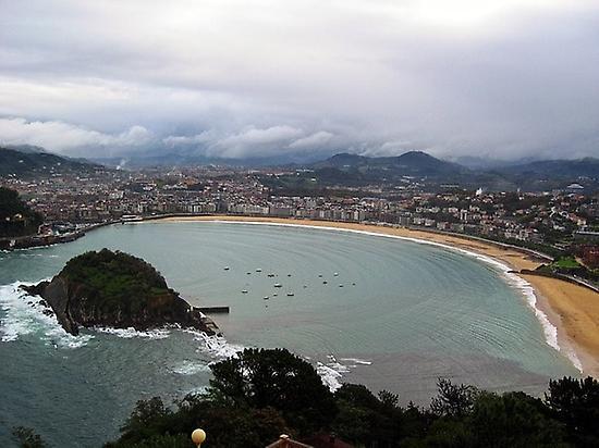 San Sebastián, northern way