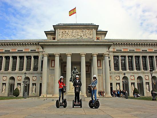 Prado Museum with Madrid Segway Tour