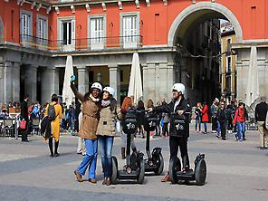 Madrid Segway Tour at Plaza Mayor