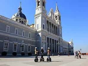 Madrid Segway Tour at the Royal Palace