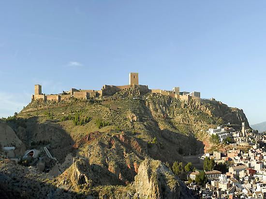 La fortaleza de Lorca, ciudad de partida