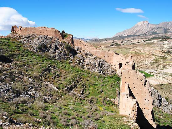 Fortaleza de Xiquena, hacia Vélez Blanco