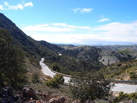 Por la Sierra de la Estancia
