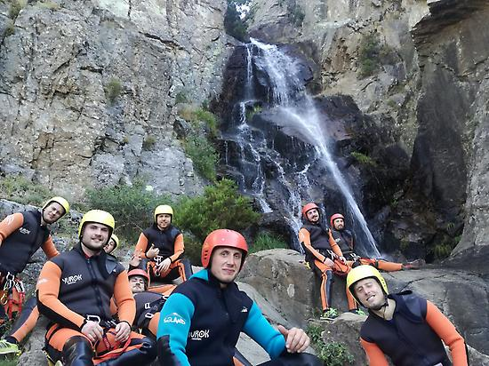 Canyoning in Madrid for Groups
