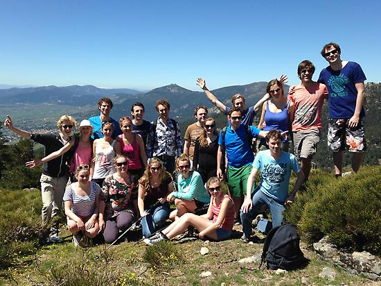 Hiking in Madrid for groups.