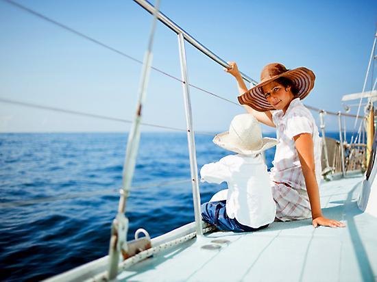 Familias en barco White Tenerife