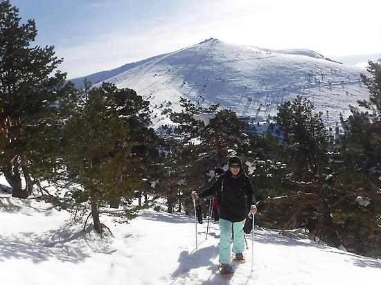 Snowshoes in Madrid