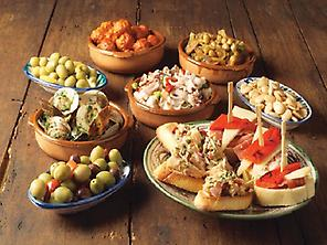 Traditional tapas of Málaga