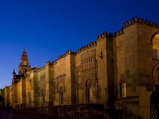 Córdoba al anochecer