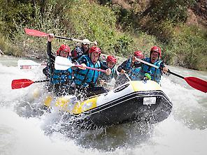 Rafting and Paintball
