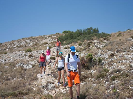 Sierra Aitana trekking