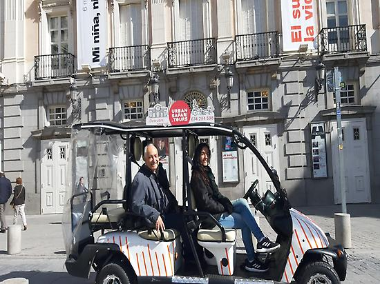 Buggy tour Madrid 3h