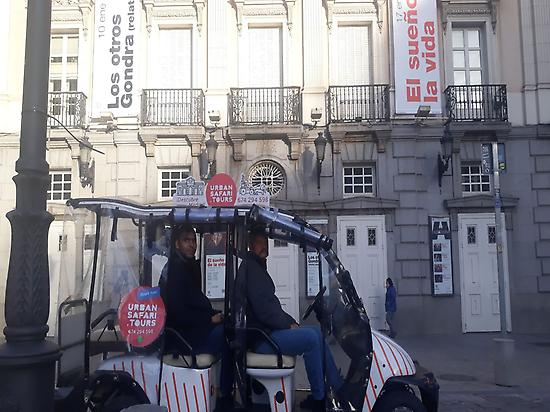 La Latina- Madrid Rio Buggy tour