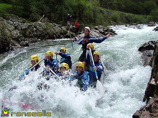 Rafting en Asturias y Cantabria