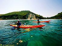Sea kayak excursions in Asturias