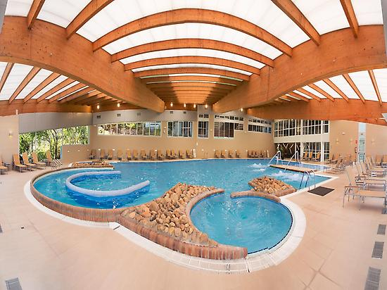 Indoor swimming pool Arnoia Spa