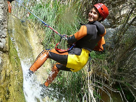 Canyoning for beginners - Level 2