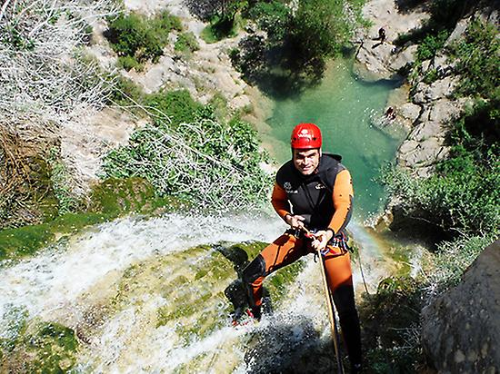 Canyoning for beginners - Level 3