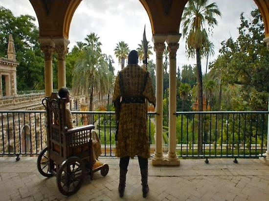 Game of thrones set (Alcazar of Sevilla)