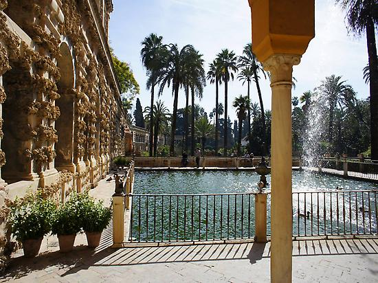 Alcazar fountains