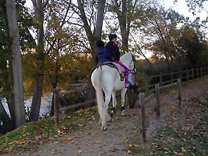 Horseback riding tour along the Tormes