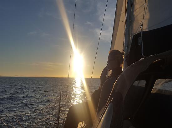 Puesta de sol en Formentera