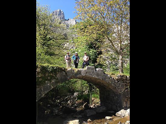 Little bridge in Atxarte