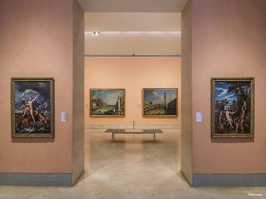 Thyssen Museum and Circulo de Bellas Art