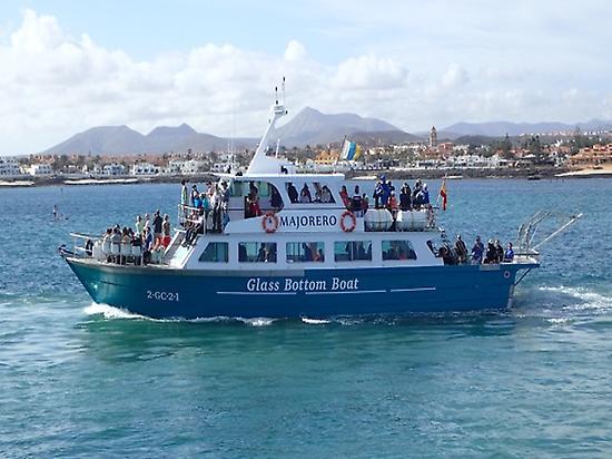 Navegando desde Corralejo