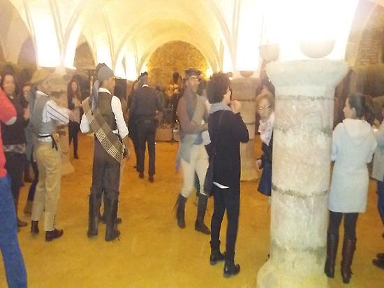 Bandolera party at the winery