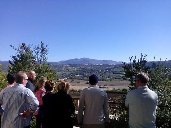 Visiting wine cellars in Ronda