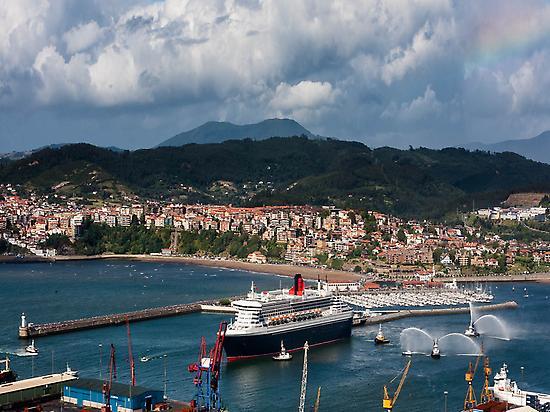 Getxo Cruise Terminal for Bilbao visit.
