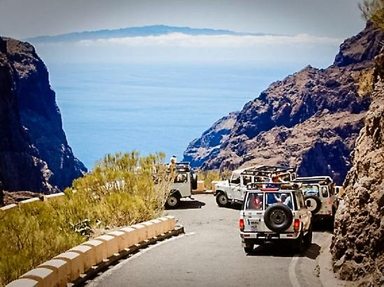 Excursion to Teide in Jeep