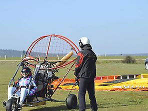 Fly in Paramotor in Zamora 0