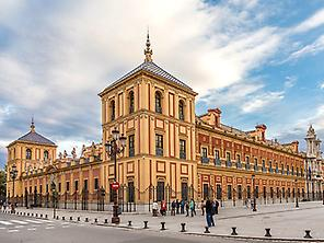 Panoramic Seville by little bus