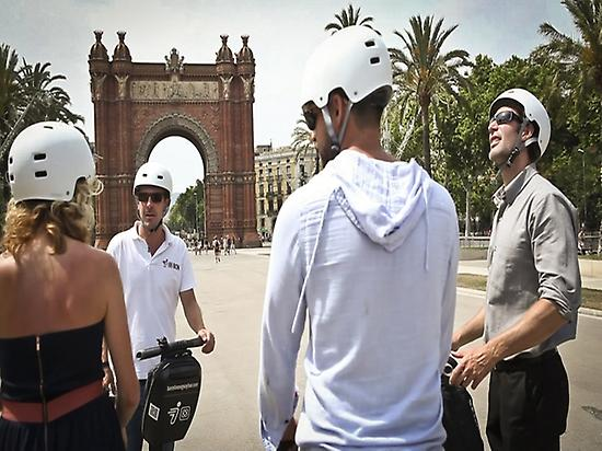 Segway Guided Tour through Barcelona