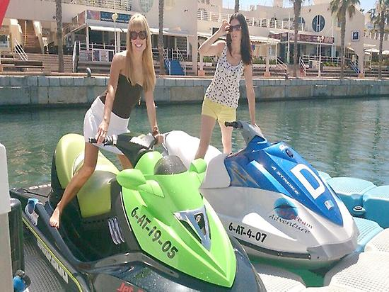 Water motorbike 1h from Alicante