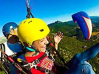 High Mountain Tandem Paragliding...