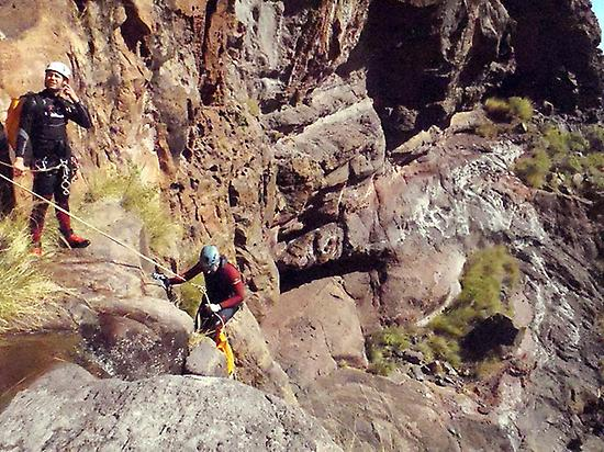 Canyoning in Gran Canaria