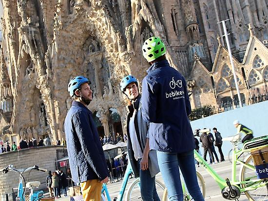 Gaudi E-Bike Guided Tour of Barcelona -