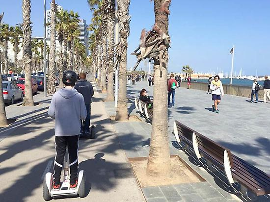 Guided Segway Tour in Barcelona