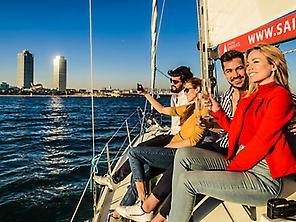 Sailboat from Barcelona to the V...