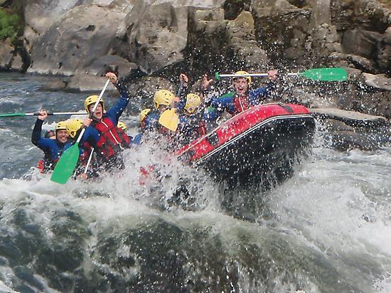 Rafting Ulla River (Galicia)