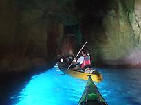 Ruta de las cuevas, de Menorcaenkayak