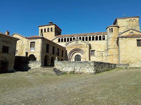 Church of Santa Juliana in Santillana