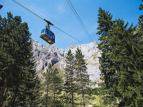 Cable Car in Fuente De